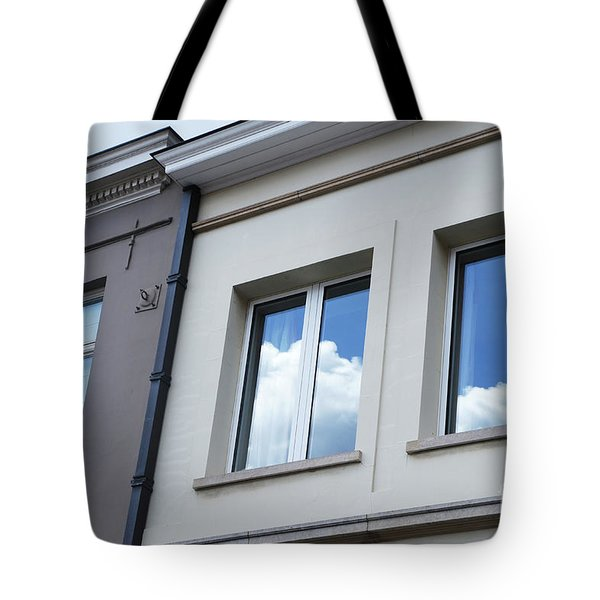 Tote Bag featuring the photograph Cloudy Windows by Ana Mireles