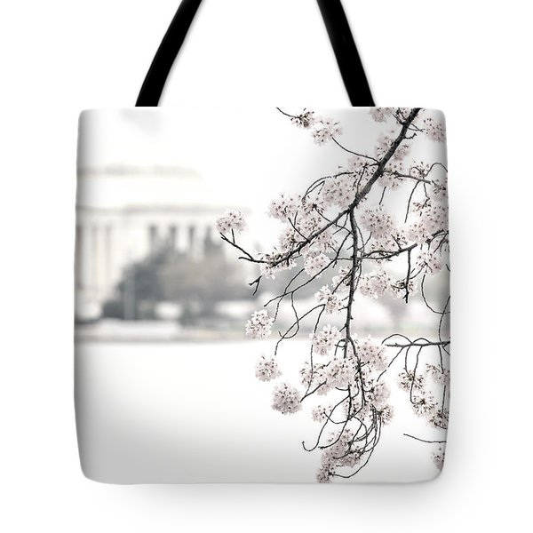 Cloudy With A Chance Of Tourists Tote Bag