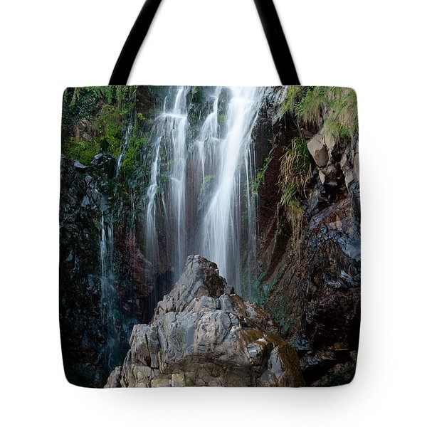 Clovelly Waterfall Tote Bag