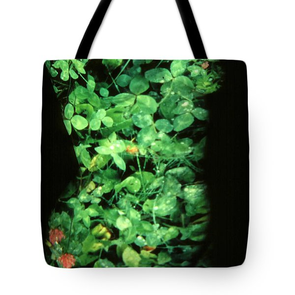 Clover Tote Bag by Arla Patch