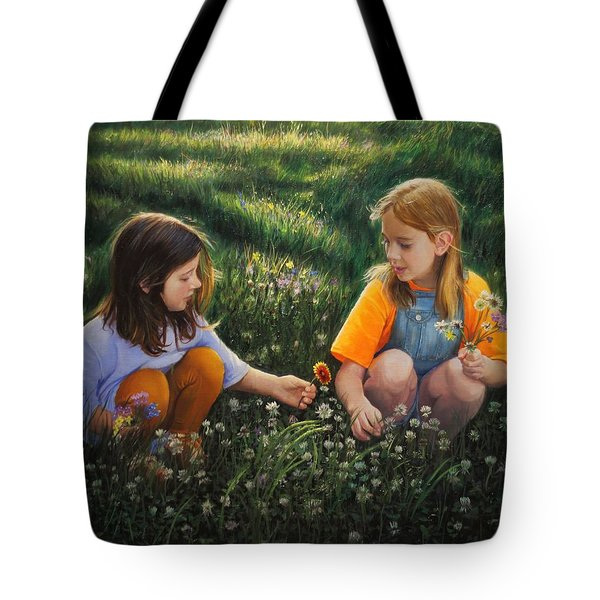 Clover Field Surprise Tote Bag