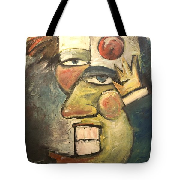 Clown Painting Tote Bag by Tim Nyberg