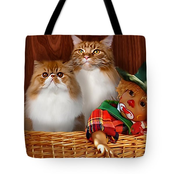 Clowning Around Tote Bag
