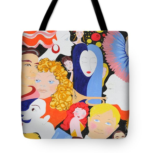 Send In The Clowns Tote Bag