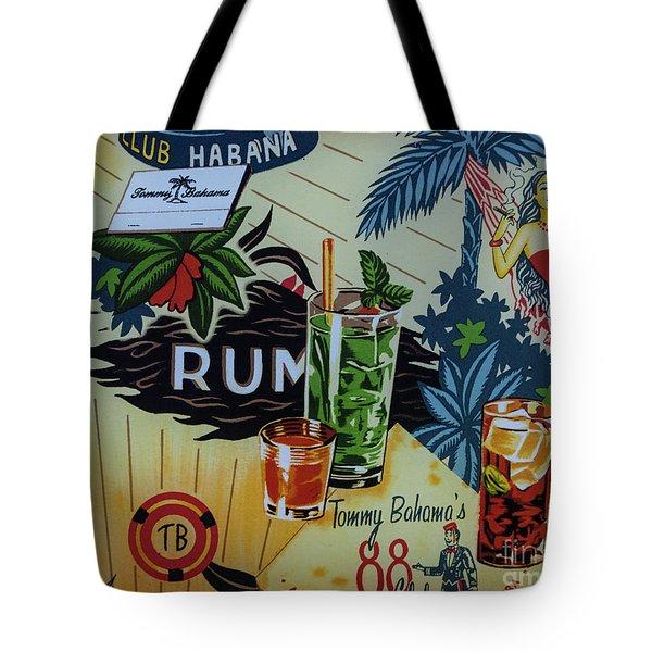Club Habana Tote Bag