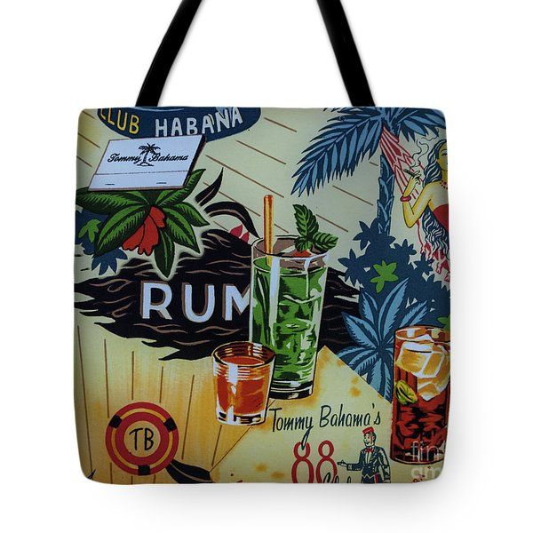 Club Habana Tote Bag