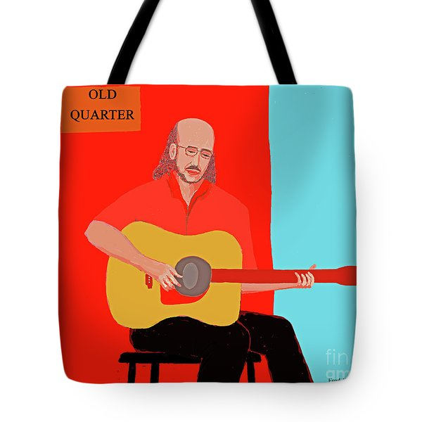 Club Musician Tote Bag by Fred Jinkins
