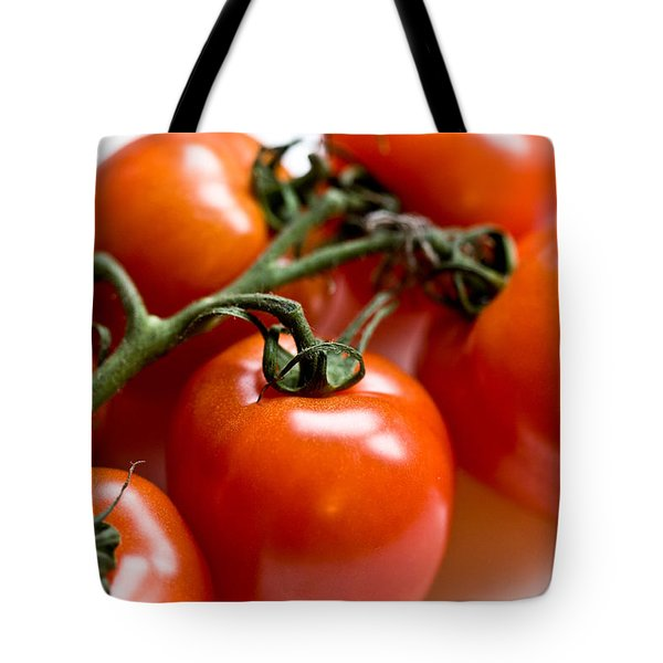 Cluster Of Tomatoes Tote Bag by Hakon Soreide