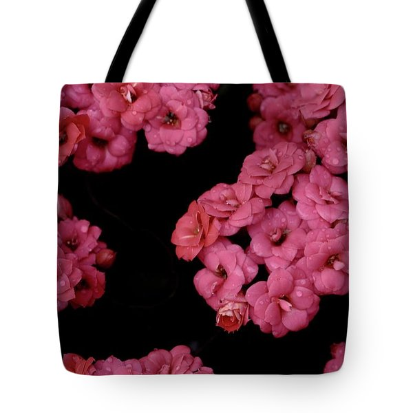 Clusters Of Pink Tote Bag by Tim Good