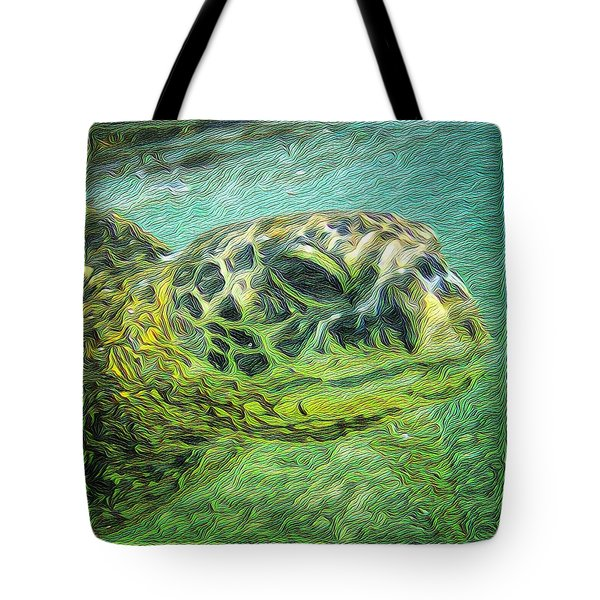 Clyde The Turtle Tote Bag
