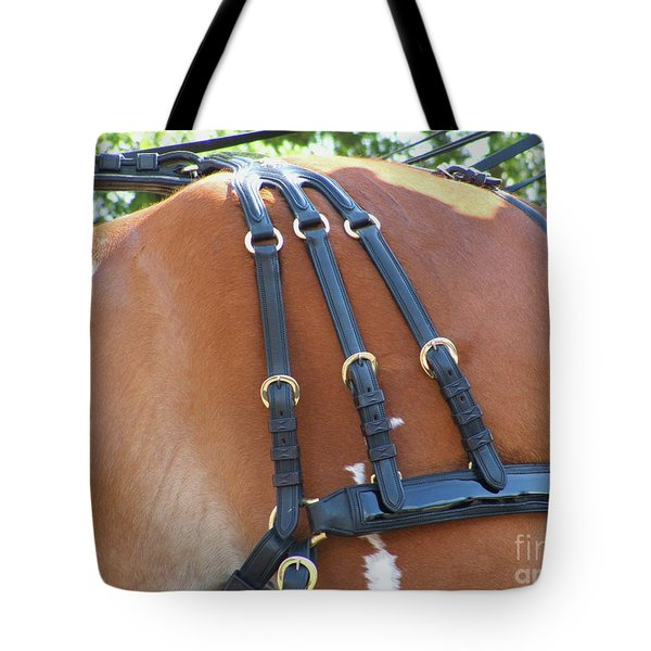 Clydesdale Tack Tote Bag