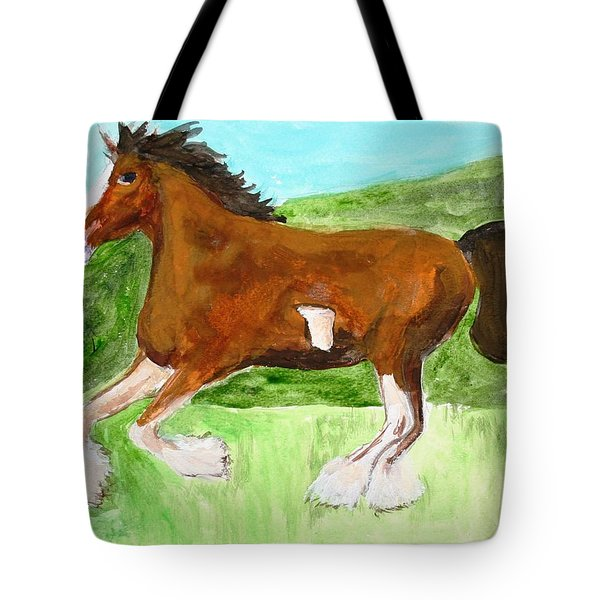 Clydesdale Tote Bag