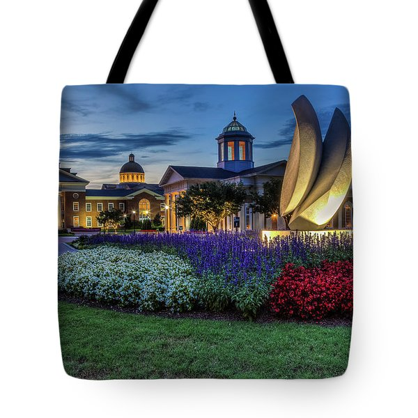C N U Campus From Avenue Of The Arts Tote Bag
