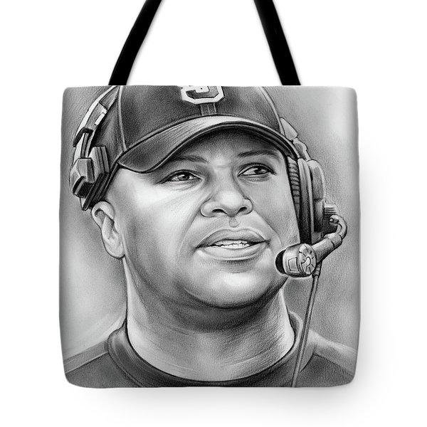 Coach David Shaw Tote Bag by Greg Joens