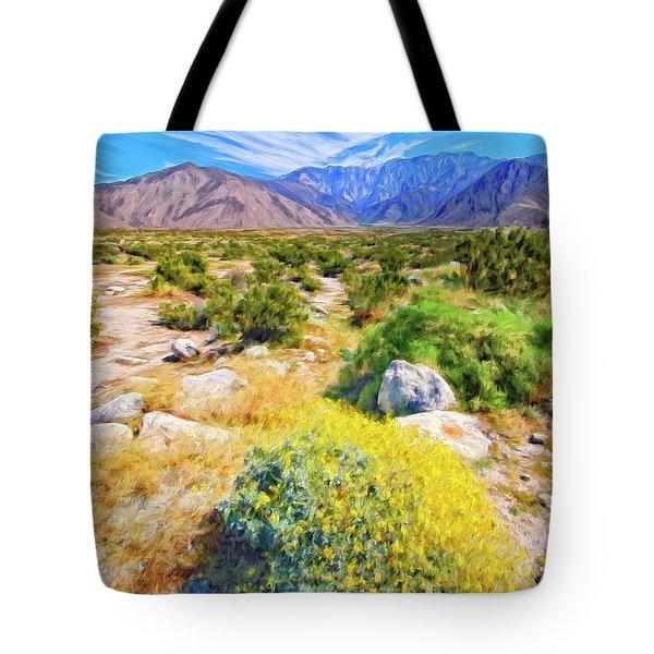 Coachella Spring Tote Bag