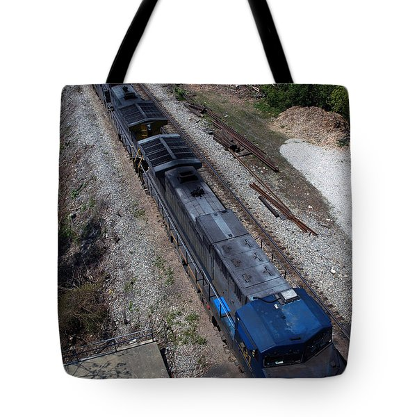Coal Crossing Tote Bag by Kelvin Booker