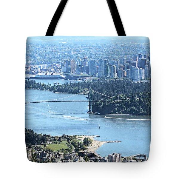 Coal Harbour Tote Bag