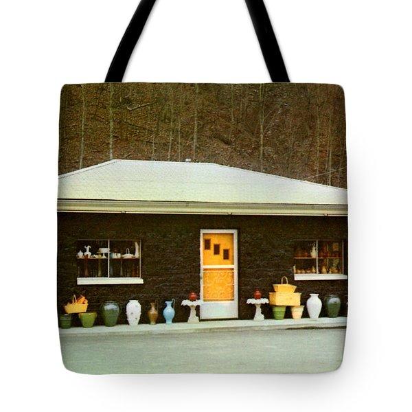 Coal House  Tote Bag by Ruth  Housley