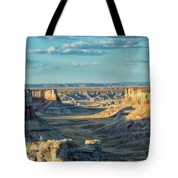Coal Mine Canyon Tote Bag by Tom Kelly