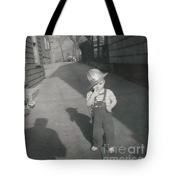 Tote Bag featuring the photograph Coal Miner by Michael Krek