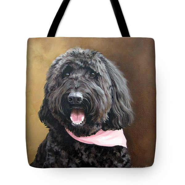 Coal Tote Bag by Sandra Chase