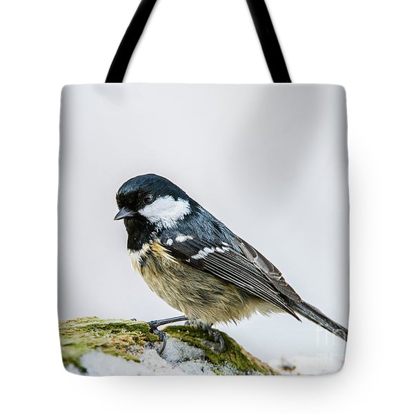Tote Bag featuring the photograph Coal Tit's Profile by Torbjorn Swenelius