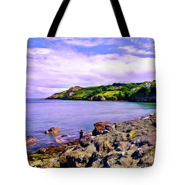 Rocky Coast At Howth Tote Bag