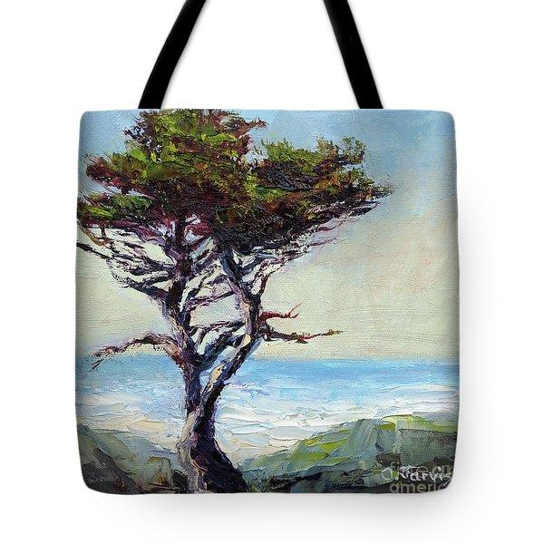 Coast Cypress Tote Bag