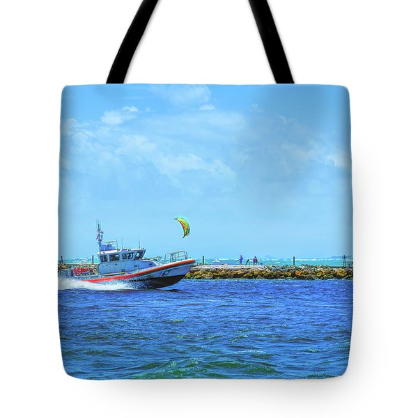 Coast Guard Run Tote Bag