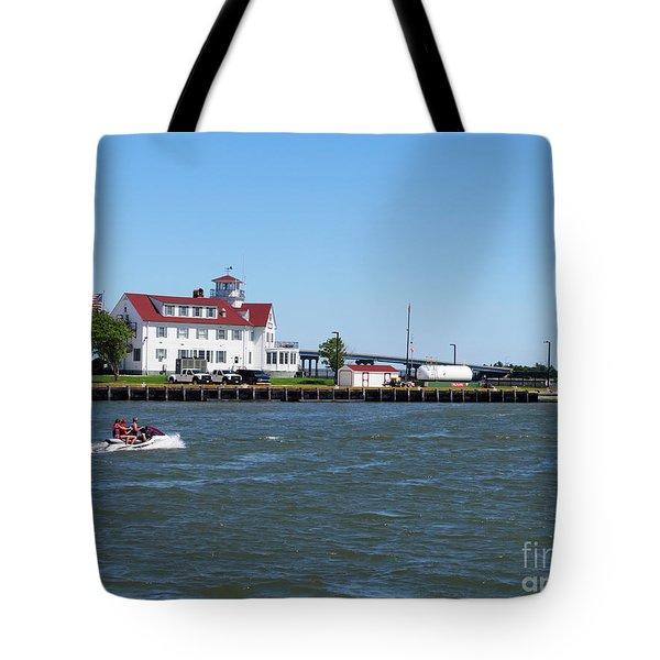 Coast Guard Station Atlantic City Tote Bag