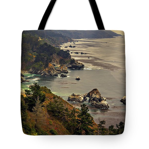 Coast Line Tote Bag