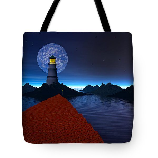 Coast Tote Bag by Mark Blauhoefer