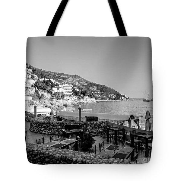 Coast Of Dubrovnik Tote Bag
