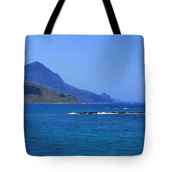 Coast Of Gramvousa Tote Bag