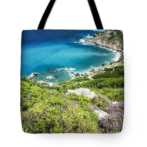 Coast Of Greece Tote Bag