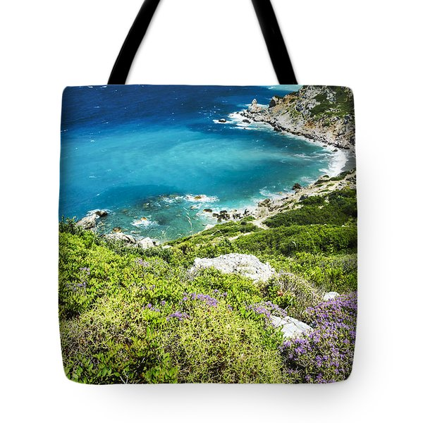 Coast Of Greece Tote Bag