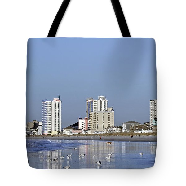 Coastal Architecture Tote Bag