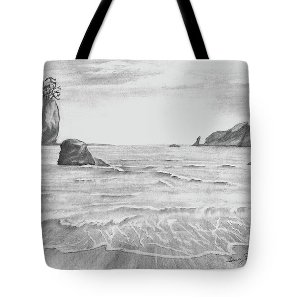 Coastal Beach Tote Bag