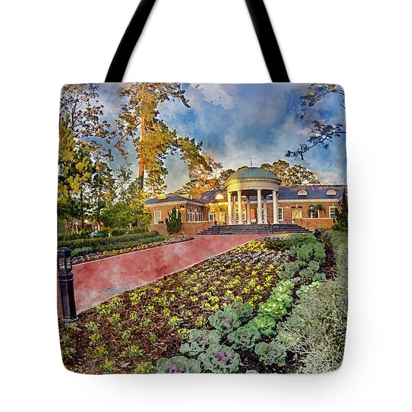 Coastal Carolina University Digital Watercolor Tote Bag