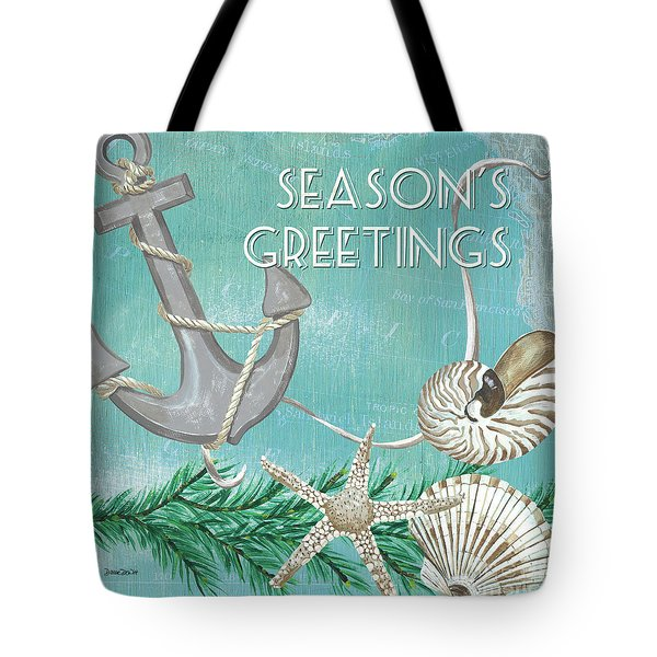 Coastal Christmas 4 Tote Bag