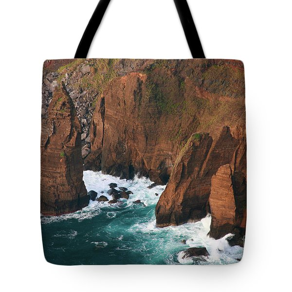 Coastal Detail Tote Bag by Gaspar Avila