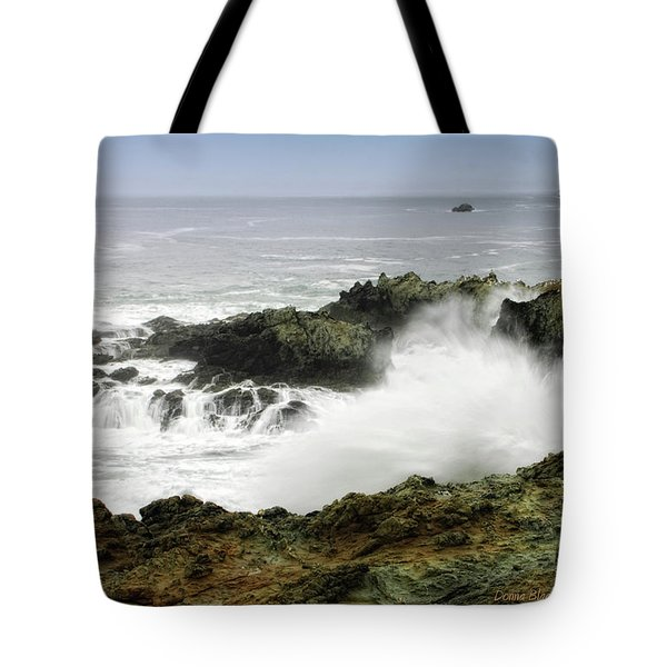 Coastal Expressions Tote Bag by Donna Blackhall