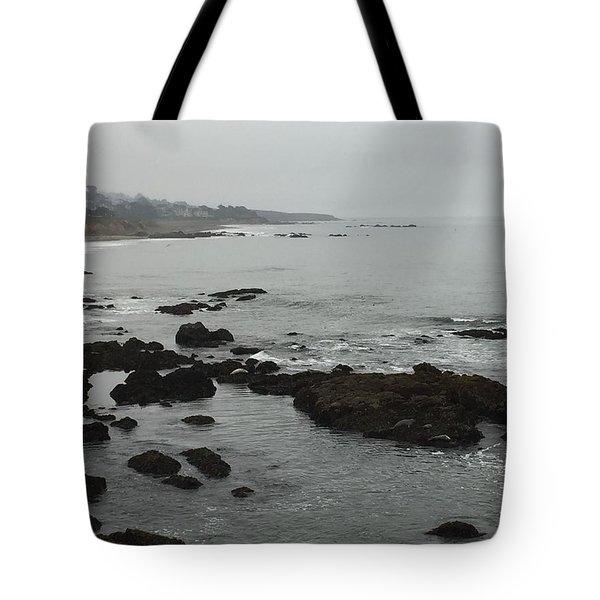 Coastal Fog Tote Bag by Russell Keating