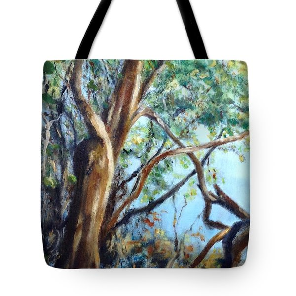 Coastal Forest Tote Bag
