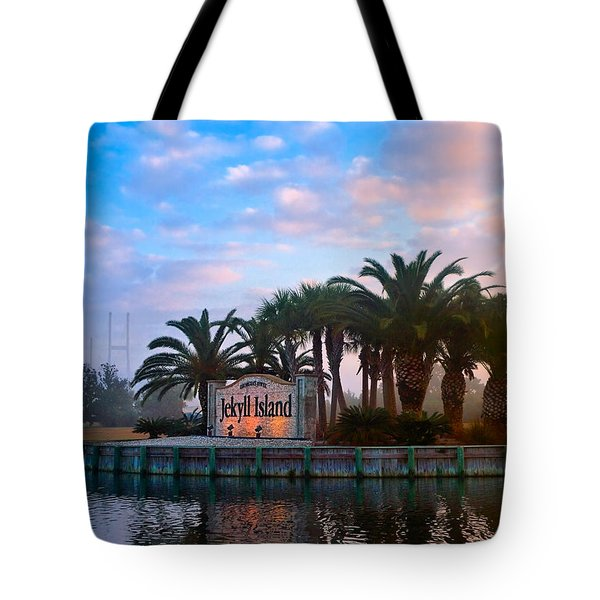 Coastal Georgia Gem Tote Bag