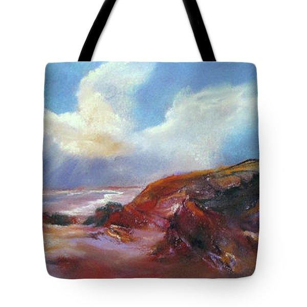 Coastal Glow Tote Bag by Rae Andrews