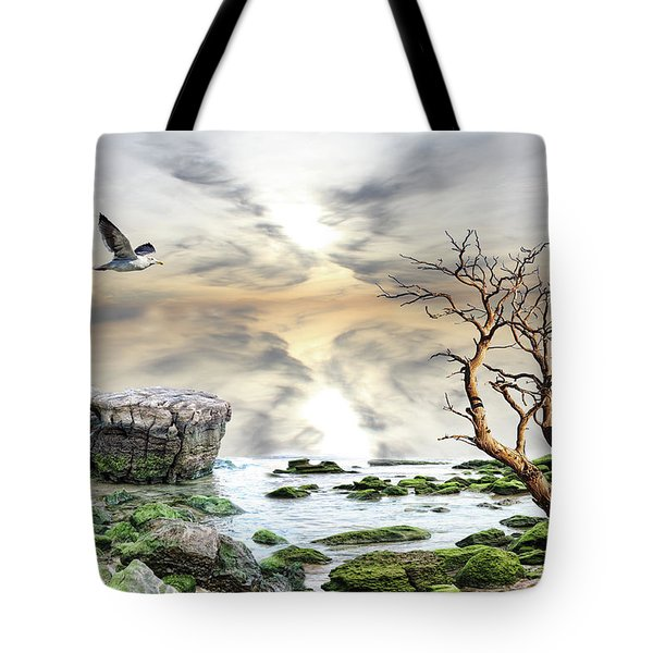 Coastal Landscape  Tote Bag by Angel Jesus De la Fuente