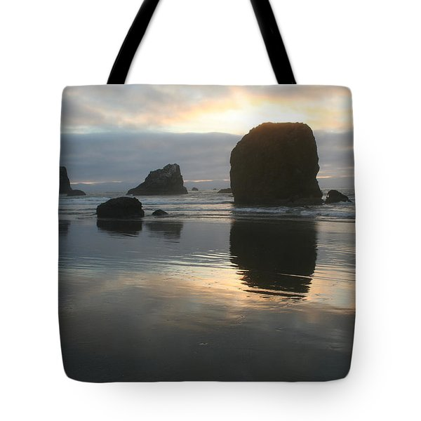 Tote Bag featuring the photograph Coastal Light by Dylan Punke