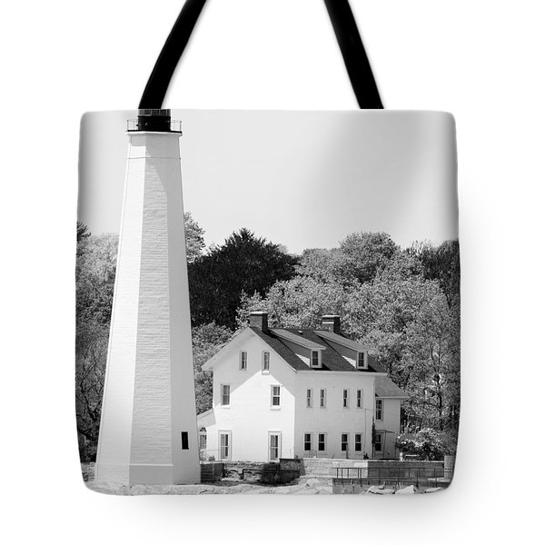 Coastal Lighthouse Tote Bag