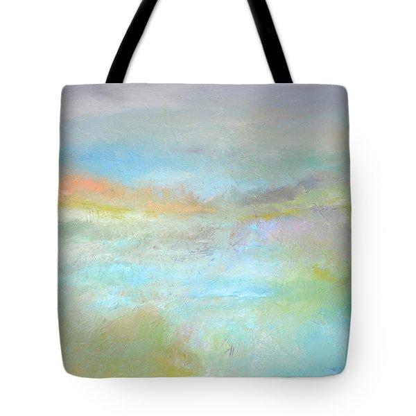 Coastal Mist Tote Bag by Filomena Booth